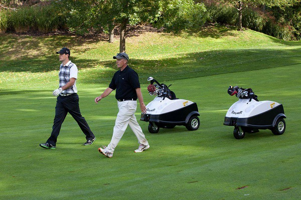 Little Golf Buddy Will Carry Two Golf Coaches To Golf Clubs.